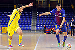 League LNFS 2017/2018 - Game 15.<br /> FC Barcelona Lassa vs Gran Canaria FS: 9-2.<br /> Aythami Torrado vs Dyego.