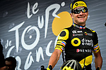 Thomas Voeckler (FRA) Direct Energie at sign on before the start of Stage 11 of the 104th edition of the Tour de France 2017, running 203.5km from Eymet to Pau, France. 12th July 2017.<br /> Picture: ASO/Pauline Ballet | Cyclefile<br /> <br /> <br /> All photos usage must carry mandatory copyright credit (&copy; Cyclefile | ASO/Pauline Ballet)