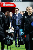 Thomas Christiansen manager of Leeds United seen during the Sky Bet Championship match between Brentford and Leeds United at Griffin Park, London, England on 4 November 2017. Photo by Carlton Myrie.