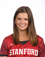 STANFORD, CA - August 16, 2019: Madison Connell on Field Hockey Photo Day.