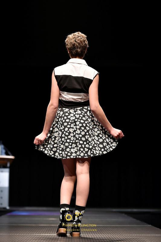 The Oversew Fashion Awards at Carterton Events Centre, Carterton, New Zealand on Sunday 24 May 2015.<br /> Photo by Masanori Udagawa. <br /> www.photowellington.photoshelter.com.