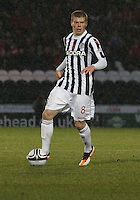 Jon Robertson in the St Mirren v Aberdeen Clydesdale Bank Scottish Premier League match played at St Mirren Park, Paisley on 9.11.12.