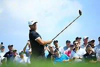 Brooks Koepka (USA) during the first round of  The Northern Trust, Liberty National Golf Club, Jersey City, New Jersey, USA. 08/08/2019.<br /> Picture Michael Cohen / Golffile.ie<br /> <br /> All photo usage must carry mandatory copyright credit (© Golffile | Michael Cohen)