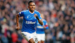 01.12.2019 Rangers v Hearts: Alfredo Morelos celebrates his goal for Rangers