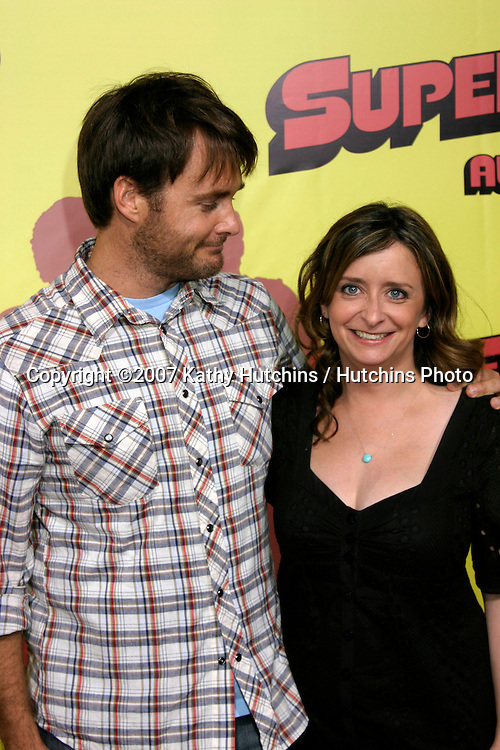 "Will Forte & Rachel Dratch.""Superbad"" Movie Premiere.Grauman's Chinese Theater.Los Angeles, CA.Aug 13, 2007.©2007 Kathy Hutchins / Hutchins Photo...."