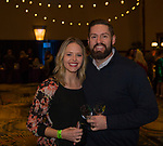 Brook and Rob Griffin during the Mardi Gras ball in the Reno Ballroom on Saturday, March 24, 2018.
