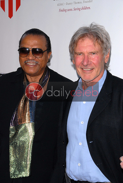 Billy Dee Williams and Harrison Ford<br /> at &quot;The Empire Strikes Back&quot; 30th Anniversary Charity Screening Benefiting St. Jude Children's Research Hospital, ArcLight Cinemas, Hollywood, CA. 05-20-10<br /> David Edwards/Dailyceleb.com 818-249-4998