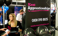 Promoting apprenticeships, Kent2020Vision show, County Showground, Kent.