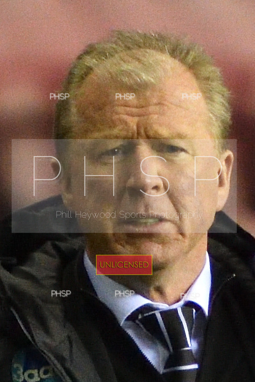 03/12/2016 Sky Bet Championship Wigan Athletic v <br /> Derby County<br /> <br /> Steve McClaren, derby County manager