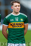 Dara Moynihan  before the Kerry v Tyrone game, in the Allianz Football League Division 1 Round 1 match between Kerry and Tyrone at Fitzgerald Stadium, Killarney on Sunday.