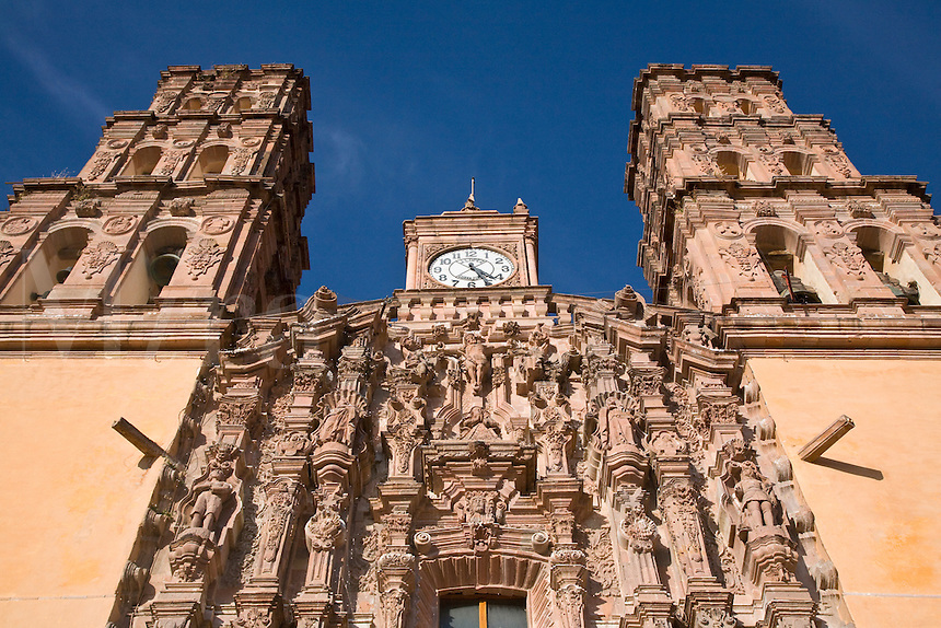 The DOLORES HIDALGO CATHEDRAL was built in the 16th century - GUANAJUATO, MEXICO