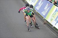 INLINE-SKATEN: STEENWIJK: Gagelsweg (start/finish), Schansweg, Meppelerweg, KPN Inline Cup, Klim van Steenwijk, 02-05-2012, Willem Hut (#26), ©foto Martin de Jong