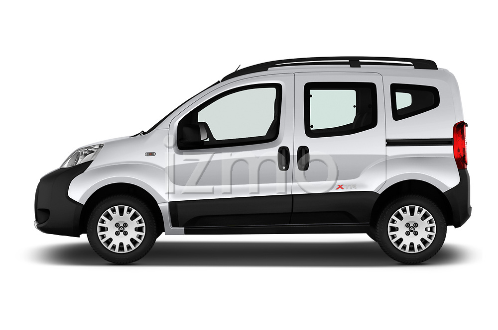 Car driver side profile view of a 2017 Citroen Nemo  base 5 Door Mini Van