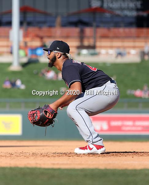 Bobby Bradley - Cleveland Indians 2020 spring training (Bill Mitchell)