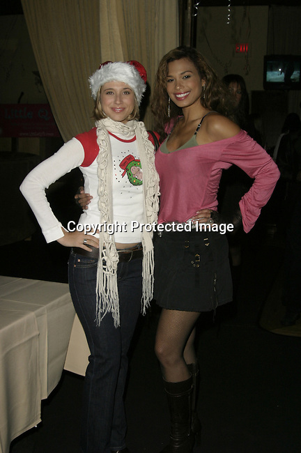 Kristen Miller &amp; Natashia Williams<br />The QT Line Launch and Charity Event<br />Club Level One<br />Beverly Hills, CA, USA<br />Sunday, December 7,  2003<br />Photo By Celebrityvibe.com /Photovibe.com