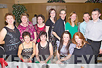 FAS Healthcare Assistants pictured having a wonderful time at their Christmas Party held in The Ballyroe Heights Hotel on Friday night. Seated l/r Mary Nolan, Sheila Curtin, Sharon O'Sullivan and Eilish Walsh, standing l/r Eileen Galvin, Bernadette O'Sullivan, Mary Galvin, Selina Egan, Jason Wallace, Susan Goodwin, Paul Cahill and Adrian Hayes..................................................................................................................................................................................................................................................................................... ............