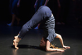"""17/12/2013. London, England. Picture: Hannah Rudd. Rambert Dance Company present an """"Evening of new choreography"""" with five new works choreographed by members of the Company at the Lilian Baylis Studio, Sadler's Wells, London.  Piece: """"Hikikomori"""" choregraphed by Malgorzata Dzierzon with Luke Ahmet, Lucy Balfour, Adam Blyde, Carolyn Bolton, Antonette Dayrit, Hannah Rudd, Pierre Tappon and Simone Damberg Würtz dancing. Photo credit: Bettina Strenske"""