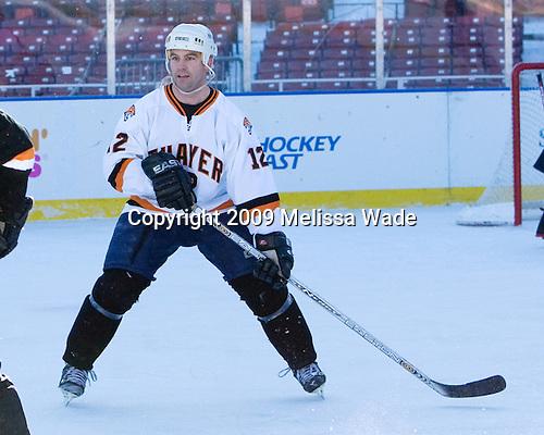 Ice Hockey at Fenway Park on Tuesday, December 22, 2009, in Boston, Massachusetts.
