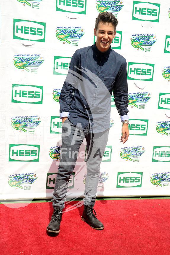 Jacob Whitesides attending Arthur Ashe Kids Day 2015 at the US Open at USTA Billie Jean King National Tennis Center on August 29, 2015 in New York City