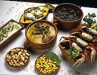 Culinária, Pará, Amazônia, farinha, mandioca, macacheira, maniva, caranguejo, tacacá, maniçoba, peixe, pato no tucupí, pimenta de cheiro, jambú