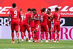 Jubel Mainz nach dem 2:0 durch Jean-Paul Boëtius / Boetius (FSV Mainz 05 #05) Jean-Philippe Mateta (FSV Mainz 05 #09), Jeremiah St. Juste (FSV Mainz 05 #04), Danny Latza (FSV Mainz 05 #06), Robin Quaison (FSV Mainz 05 #07)<br /> <br /> <br /> Sport: nphgm001: Fussball: 1. Bundesliga: Saison 19/20: 33. Spieltag: 1. FSV Mainz 05 vs SV Werder Bremen 20.06.2020<br /> <br /> Foto: gumzmedia/nordphoto/POOL <br /> <br /> DFL regulations prohibit any use of photographs as image sequences and/or quasi-video.<br /> EDITORIAL USE ONLY<br /> National and international News-Agencies OUT.