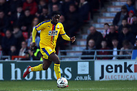 Jeffrey Schlupp of Crystal Palace during Doncaster Rovers vs Crystal Palace, Emirates FA Cup Football at the Keepmoat Stadium on 17th February 2019