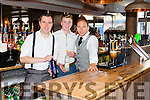 Bar staff at the Official Opening of No 4 the Square on Friday