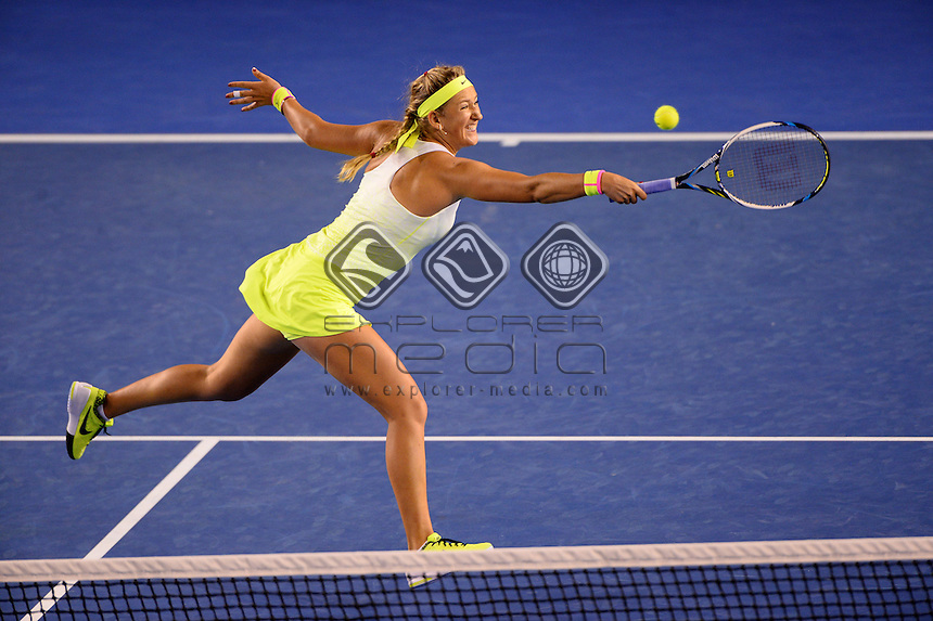 Victoria Azarenka (BLR) bows out in the 4th round <br /> 2015 Australian Open Tennis / Day 8<br /> Grand Slam of Asia Pacific<br /> Melbourne Park, Vic Australia<br /> Monday 26 January 2015<br /> &copy; Sport the library / Jeff Crow