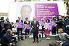 UKIP <br /> General Election 2015 <br /> launch in Smith Square, Westminster, London, Great Britain <br /> 30th March 2015 <br /> <br /> Nigel Farage <br /> leader of UKIP <br /> <br /> <br /> Photograph by Elliott Franks <br /> Image licensed to Elliott Franks Photography Services