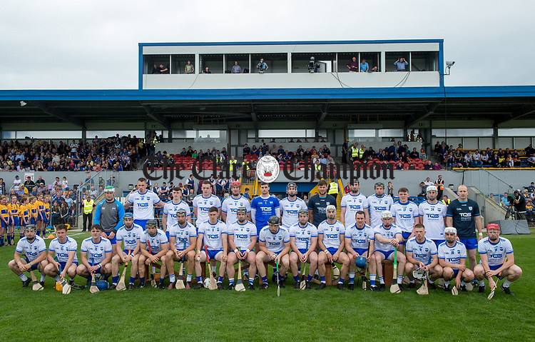 The Waterford team which lost out to Clare in the Munster  championship round robin game at Cusack Park Photograph by John Kelly.