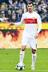 09.11.2019, Stadion an der Bremer Brücke, Osnabrück, GER, 2. FBL, VfL Osnabrueck vs. VfB Stuttgart<br /> <br /> ,DFL REGULATIONS PROHIBIT ANY USE OF PHOTOGRAPHS AS IMAGE SEQUENCES AND/OR QUASI-VIDEO, <br />   <br /> im Bild<br /> Pascal Stenzel (VfB Stuttgart #15), Aktion / Einzelbild / Freisteller / mit Ball.<br /> <br /> <br /> Foto © nordphoto / Paetzel