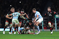 England's Courtney Lawes <br /> <br /> Photographer Rachel Holborn/CameraSport<br /> <br /> International Rugby Union Friendly - Old Mutual Wealth Series Autumn Internationals 2017 - England v Argentina - Saturday 11th November 2017 - Twickenham Stadium - London<br /> <br /> World Copyright &copy; 2017 CameraSport. All rights reserved. 43 Linden Ave. Countesthorpe. Leicester. England. LE8 5PG - Tel: +44 (0) 116 277 4147 - admin@camerasport.com - www.camerasport.com