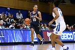 13 November 2016: Penn's Anna Ross. The Duke University Blue Devils hosted the University of Pennsylvania Quakers at Cameron Indoor Stadium in Durham, North Carolina in a 2016-17 NCAA Division I Women's Basketball game. Duke defeated Penn 68-55.