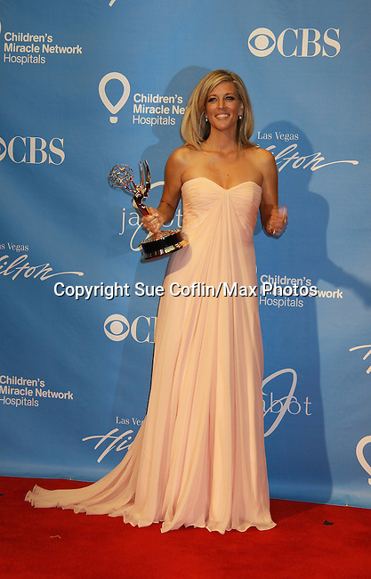General Hospital Laura Wright - lead actress nominee at the 38th Annual Daytime Entertainment Emmy Awards 2011 held on June 19, 2011 at the Las Vegas Hilton, Las Vegas, Nevada. (Photo by Sue Coflin/Max Photos)