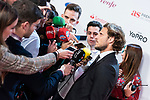 Diego Forlan and his partner attends the As Awards<br /> December  3, 2019. <br /> (ALTERPHOTOS/David Jar)