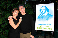 LOS ANGELES - APR 9: Gabrielle Carteris, Charles Isaacs at The Actors Fund's Edwin Forrest Day Party and to commemorate Shakespeare's 453rd birthday at a private residence on April 9, 2017 in Los Angeles, California