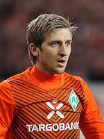 FUSSBALL  1. BUNDESLIGA  SAISON 2011/2012  31. SPIELTAG 13.04.2012 VfB Stuttgart - SV Werder Bremen Marko Marin (SV Werder Bremen)