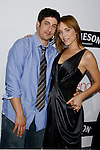 """HOLLYWOOD, CA. - September 15: Actor Jason Biggs and Jenny Mollen arrive at the world premiere of """"My Best Friend's Girl"""" at The Arclight Hollywood on September 15, 2008 in Hollywood, California."""
