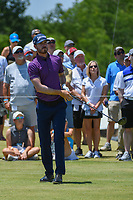 Sam Ryder (USA) watches his tee shot on 1 during round 2 of the AT&amp;T Byron Nelson, Trinity Forest Golf Club, at Dallas, Texas, USA. 5/18/2018.<br /> Picture: Golffile | Ken Murray<br /> <br /> <br /> All photo usage must carry mandatory copyright credit (&copy; Golffile | Ken Murray)