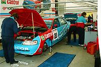 1993 British Touring Car Championship. #21 Julian Bailey (GBR). Team Securicor Toyota. Toyota Carina E GTi.