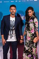 "Ruben Sanz and girlfriend during the premiere of ""Cuerpo de Elite"" at Capitol cinema. Madrid. August 25, 2016. (ALTERPHOTOS/Rodrigo Jimenez) /NORTEPHOTO"