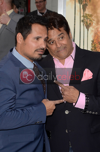 "Michael Pena, Eric Estrada<br /> at the ""Chips"" Los Angeles Premiere, TCL Chinese Theater, Hollywood, CA 03-20-17<br /> David Edwards/DailyCeleb.com 818-249-4998"