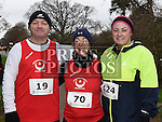 Austin Collins, Annmarie Kierans and Leanne Saurin who took part in Erin's Run. Photo:Colin Bell/pressphotos.ie