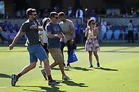 San Jose, CA - Saturday July 29, 2017: Ceremonial first kick prior to a Major League Soccer (MLS) match between the San Jose Earthquakes and Colorado Rapids at Avaya Stadium.