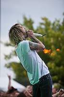 Chiodos performas at  Dirt Fest at The Birch Run Expo Center in Birch Run, Michigan Joe Gall / Mediapunchinc /NortePHOTO.com