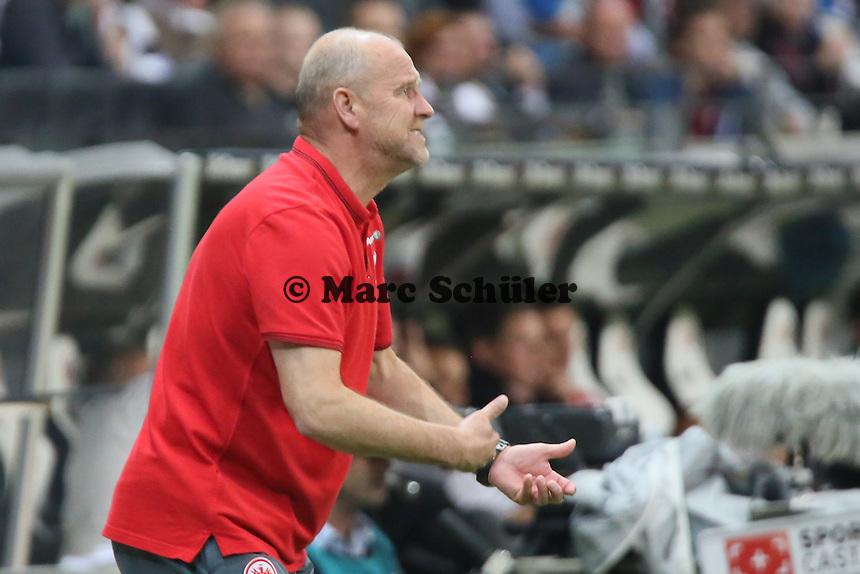 Trainer Thomas Schaaf (Eintracht) - Eintracht Frankfurt vs. 1. FC Köln Commerzbank Arena