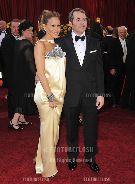 Sarah Jessica Parker & Matthew Broderick at the 82nd Annual Academy Awards at the Kodak Theatre, Hollywood..March 7, 2010  Los Angeles, CA.Picture: Paul Smith / Featureflash
