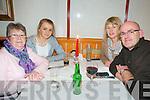New Year's At Royal China: Ringing in the New Year at Royal China Restaurant, Listowel were Kay Landy, Aideen Horgan, Breda Landy-Horgan & Sean Horgan