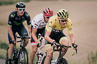 yellow Chris Froome (GBR/SKY)<br /> <br /> 104th Tour de France 2017<br /> Stage 10 - Périgueux › Bergerac (178km)