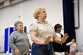 Tai Chi tasted session at an Open day at the Stowe Centre organised by the Open Age project for the over-50s.